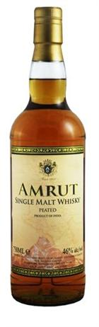 Amrut Single Malt Whiskey Peated